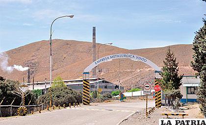 En este complejo metalúrgico debe erigirse la fundición de zinc en Oruro, una promesa que los orureños no sabemos cuándo se cumplirá