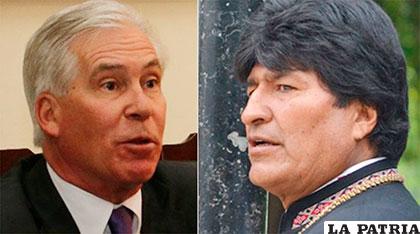 Evo Morales valora