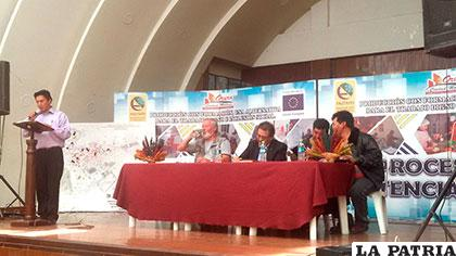 Representantes de las instancias involucradas del programa