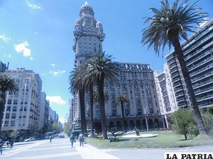 Montevideo, Uruguay tiene una arquitectura llamativa