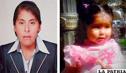 Madre e hija desaparecieron juntas