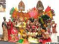 El colorido de Bolivia posa entre otras culturas /Ministerio de Culturas y Turismo