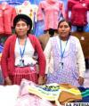Elegantes prendas hechas con manos bolivianas