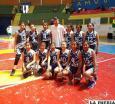 Selección orureña U-12 de básquetbol cumple  buena campaña en el Convivio de Viacha