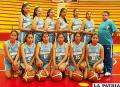 La selección U-15 Nivel