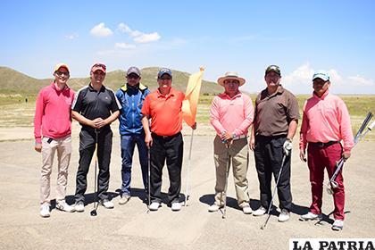 Los mejores golfistas a nivel nacional volverán a reunirse en Oruro/ archivo LA PATRIA