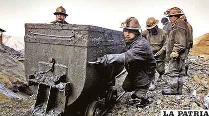 La minería sigue siendo uno de los rubros más importantes de la economía orureña