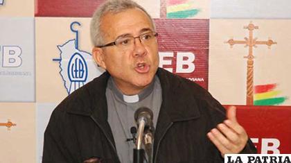 José Fuentes, secretario general adjunto de la CEB/ ANF