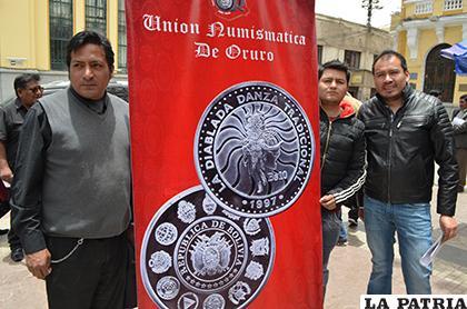 Unión Numismática de Oruro /LA PATRIA