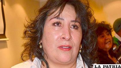 Boyán fue removida a la Unidad de Registro Biométrico y renunció / Erbol