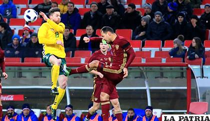 Rumania no tuvo problemas para vencer a Lituania 3-0 / tvmax-9.com