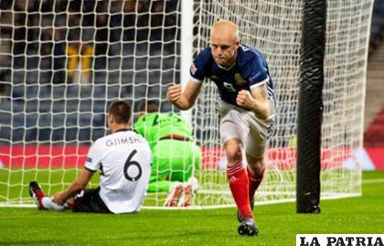 Buen triunfo de Escocia en su visita a Albania por 4 goles a 0 /notiulti.com