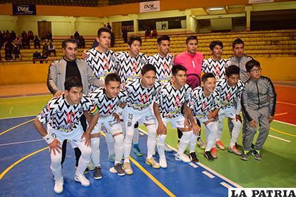 El plantel de FM Moralitos que participó en la Liga de Futsal /archivo LA PATRIA