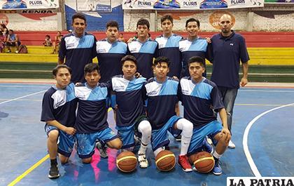 Buena participación del seleccionado orureño en el torneo nacional / cortesía Mauro Ramallo