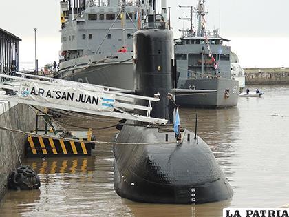 El submarino argentino ARA San Juan, estaba desaparecido desde el 15 de noviembre de 2017 /ENTORNOINTELIGENTE.COM