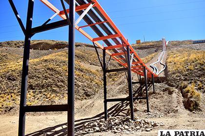 La planta de recirculación del agua forma parte para el funcionamiento del ingenio Lucianita / LA PATRIA
