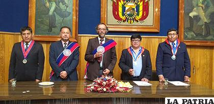 Autoridades de Agronomía fueron posesionadas en acto protocolar/ UTO