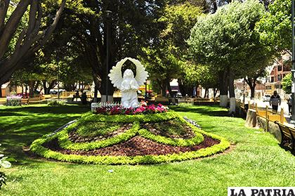 Mejoramiento de plazas es constante para la unidad de Forestación de la Alcaldía/LA PATRIA Fernando Rodríguez