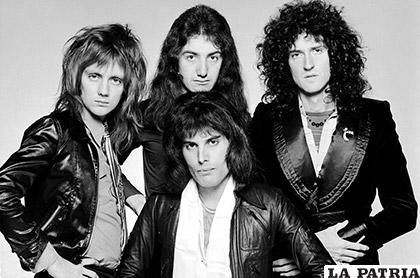 De izquierda a derecha: Roger Taylor, John Deacon, Freddie Mercury y Brian May/ CULTO.LATERCERA.COM