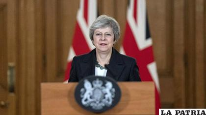 La primera ministra británica, Theresa May /UECDN.ES