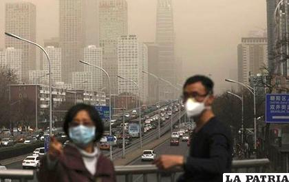 La lucha contra la contaminación es uno de los principales problemas de China /CLOUDFRONT.NET