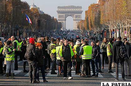 La protesta fue ampliamente respaldada por la sociedad francesa/PULSOSLP.COM.MX