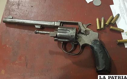 El arma secuestrada a los delincuentes aquel 28 de julio /Archivo LA PATRIA