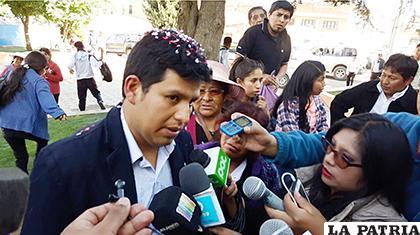 Juan Carlos Herrera pidió seriedad en la investigación de las explosiones /LA PATRIA