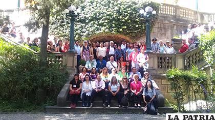 Participaron expositores y asistentes de diferentes países