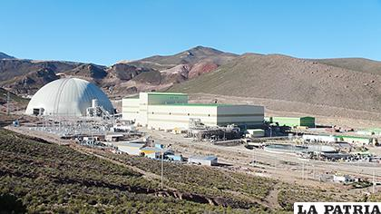 La producción minera en San Cristóbal - Potosí, constituye el factor generador de importantes regalías para ese departamento, junto a otras minas privadas