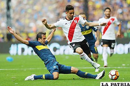 Boca y River empataron en la ida 2-2, ahora volverán a enfrentarse en Madrid  /heraldo.es
