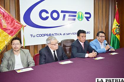 Representantes del Consejo de Administración de Coteor R.L. /LA PATRIA