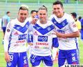 Hebert Leaños, Javier Sanguinetti y Marco Barrera, jugadores del cuadro orureño