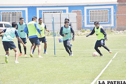 Borda ya está recuperado y entrena a la par de sus compañeros /Reynaldo Bellota /LA PATRIA