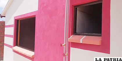 La vivienda afectada en la urbanización Sio 2 /LA PATRIA