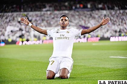 Rodrygo se consagró en Real Madrid anotando tres goles /as.com