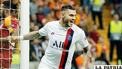 Mario Icardi marcó el único gol con el que PSG venció al Club Brujas /sportsmax.tv