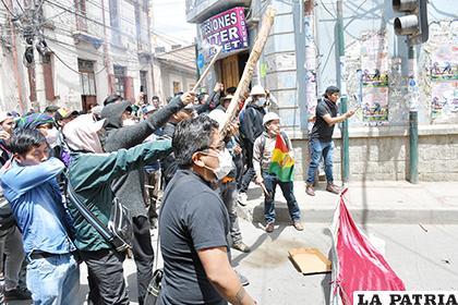 La resistencia estudiantil /LA PATRIA