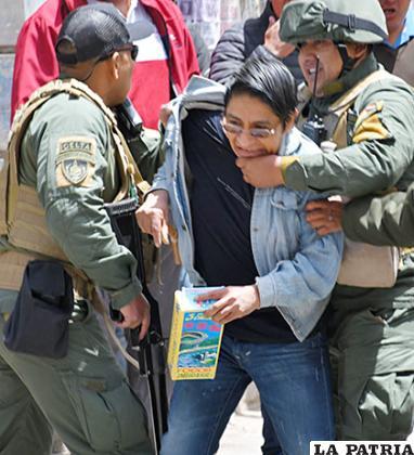 Una persona fue arrestada, pero posteriormente fue liberada /LA PATRIA