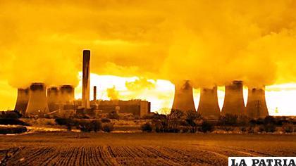 La instalación de Cuadrilla Resources en la localidad de Lanchashire, Reino Unido /Getty Images