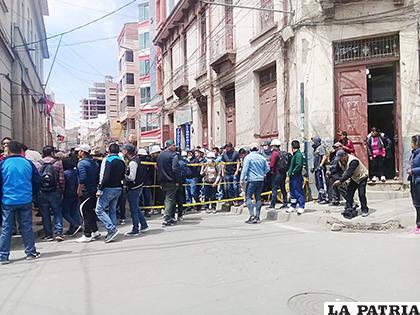 Universitarios bloquearon diferentes puntos de la ciudad /LA PATRIA