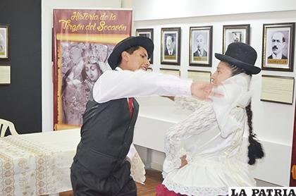 Cueca será la temática del recital del Ballet Tierra Alta /johan romero /la PATRIA