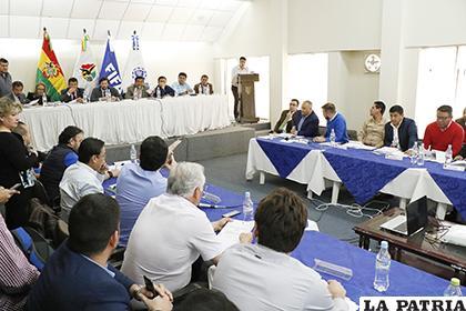 El martes en Cochabamba se reunirán los dirigentes de los clubes para tomar decisiones con relación al torneo Clausura /APG