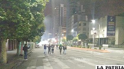 La noche del martes varios jóvenes fueron detenidos por la Policía /ANF /ARCHIVO