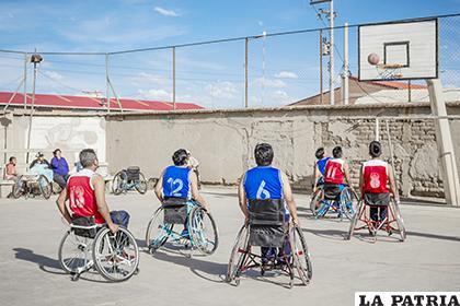 El certamen de básquetbol sobre silla de ruedas volverá a escena el 30 de noviembre /LA PATRIA /Archivo