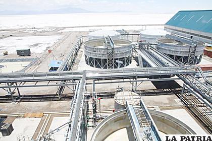 El Gobierno realizó importante inversión para la instalación de plantas de prueba en la industrialización del litio. La firma ACI, no contribuyó con ninguna iniciativa.