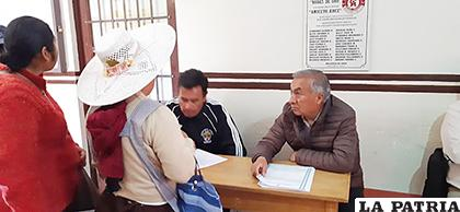 Desde el lunes 18 de noviembre, hasta el 21 de noviembre se hará la revisión de documentos /LA PATRIA/ARCHIVO