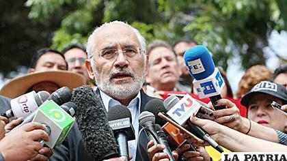 El expresidente de Bolivia, Carlos Mesa/EFE