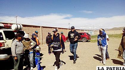 Suarez y Salvatierra también demandaron al elenco orureño  /lA PATRIA /Archivo