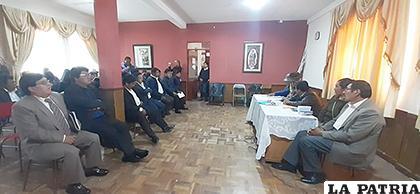 Ayer sesionaron en La Catedral sólo para leer la renuncia del exgobernador /LA PATRIA